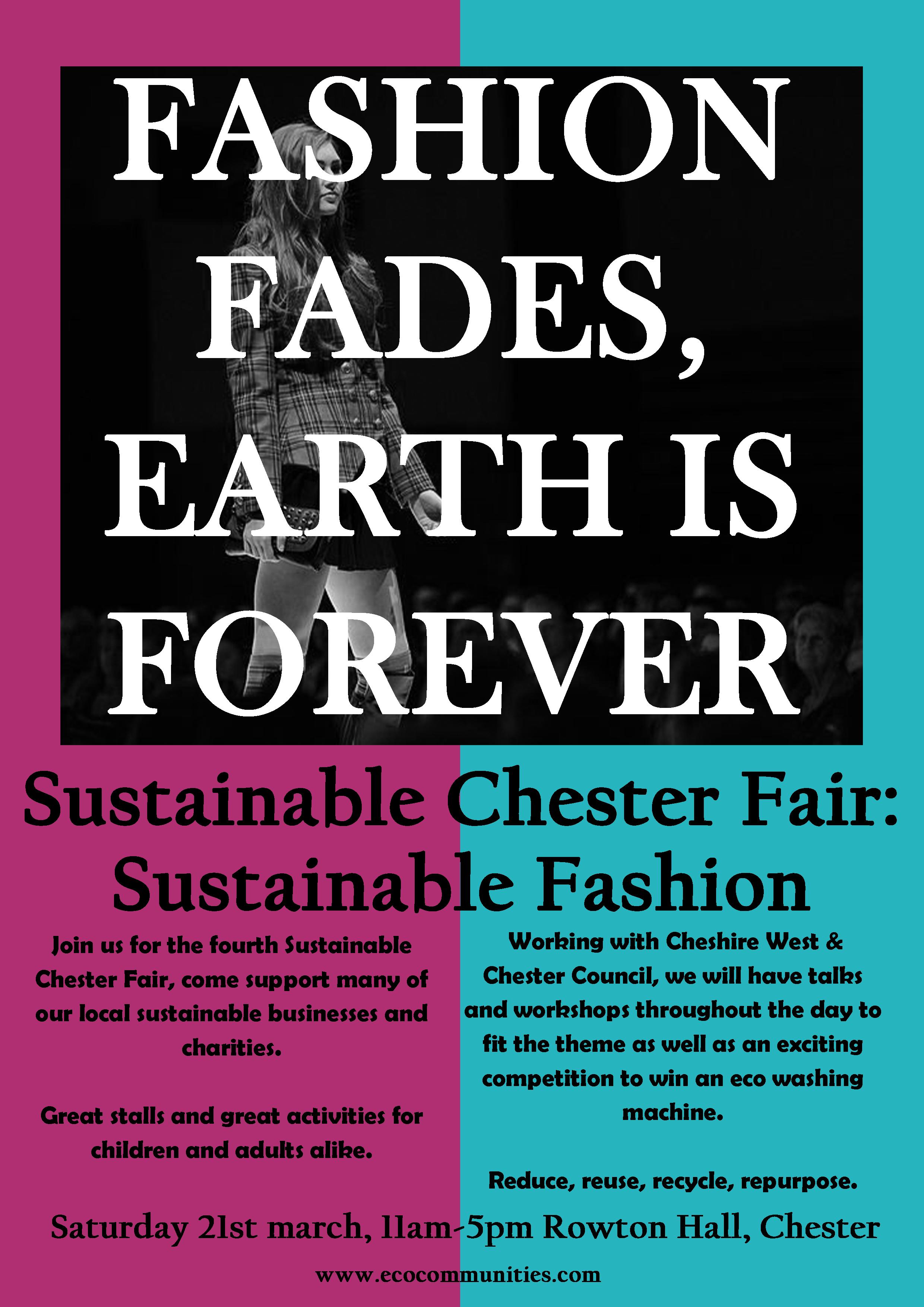 Sustainble chester Fair & Sustainable fashion
